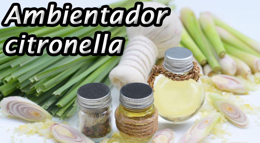 Ambientador citronela antimosquitos de varios tipos