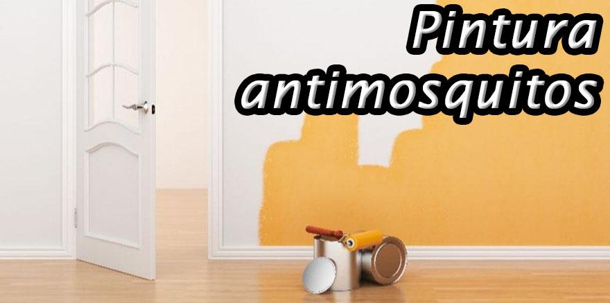 Pintura antimosquitos
