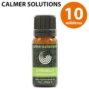 Botella de aceite de citronela Calmer Solutions 10 ml