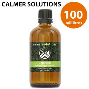 Botella 100 ml de aceite citronela esencial Calmer Solutions
