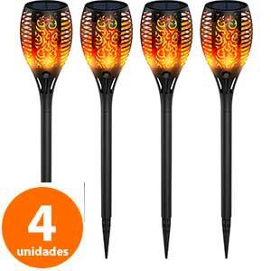 Antorchas de LED pack 4 Ruyilam