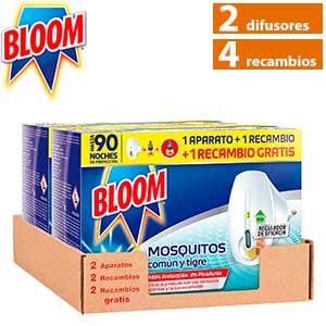 Bloom difusor eléctrico antimosquitos