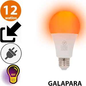 Bombilla repelente mosquitos Galapara 12 watios