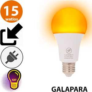 Bombilla repelente insectos Galapara 15 watios