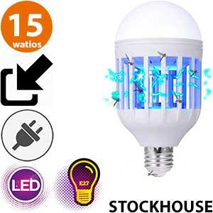 Bombilla LED antimosquitos Stockhouse 15 watios