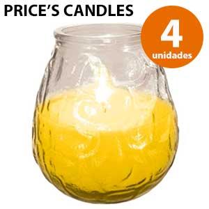 Corta vientos de citronela Price's Candles - 4 unidades