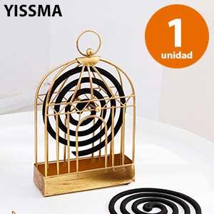 Quemador de espiral jaula Yissma