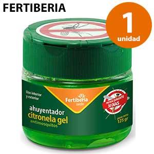 Gel repelente de mosquitos Fertiberia