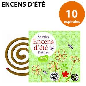 Espirales de incienso con citronela antimosquitos Encesn d'Été