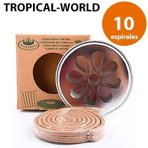Incienso contra mosquitos Tropical.World