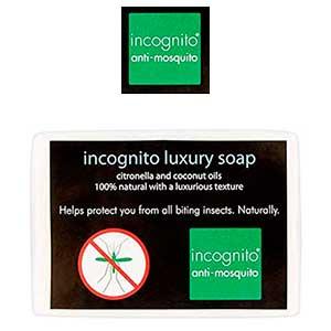 Jabón repelente de mosquitos Incognito