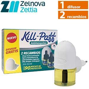 Kill Paff insecticida: difusor y 2 recambios