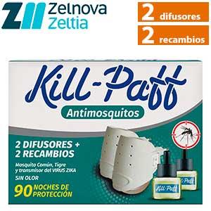 Kill-Paff difusor insecticida líquido con recambios