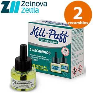 Recambios para el difusor mosquitos Kill-Paff