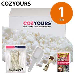 Cozyours - Kit para hacer velas de citronela en casa
