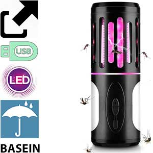 Lámpara usb antimosquitos con linterna Basein