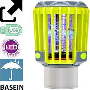Lámpara eléctrica USB antimosquitos Basein