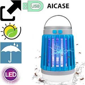 Lámpara mosquitos solar usb AICase