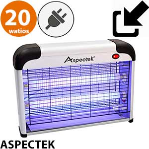 Lámpara mosquitos ultravioleta Aspecteck