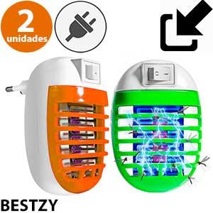 Lámpara para enchufe contra insectos Bestzy