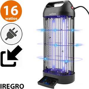 Lámpara mosquitos efectiva Iregro