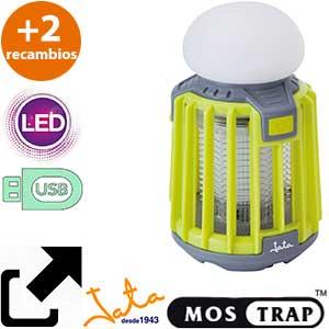 Mostrap MIB9V lámpara USB verde + 2 cargas