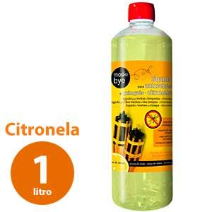 Citronela líquida para antorchas de jardín Flower - 1 litro