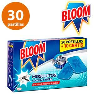 Plaquitas antimosquitos Bloom 30 unidades