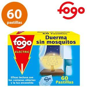 Pastillas antimosquitos Fogo 60 unidades