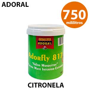 Pintura antimosquitos blanca Adoral 750 ml