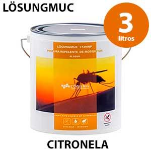 Pintura blanca con citronela Lösungmuc 1 litro