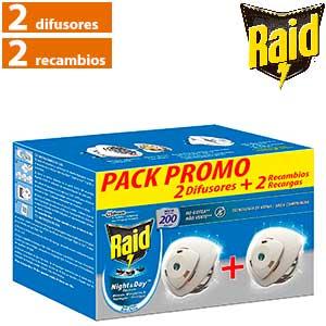 Antimosquitos Raid Night&Day