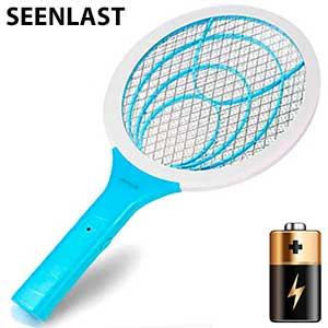 Raqueta insectocutor eléctrico a pilas Seenlast