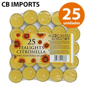 Calienta platos de citronela CB Imports