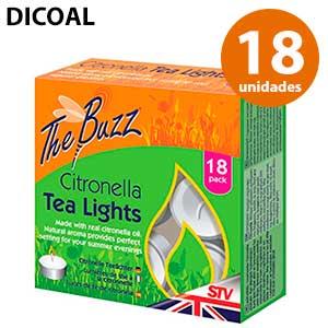 Tealighs citronella Dicoal