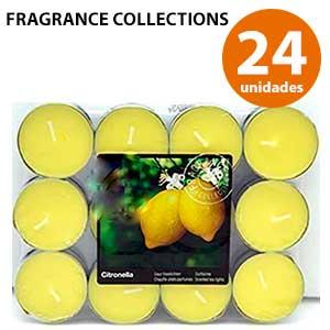 Velas de té antimosquitos Fragrance Collection
