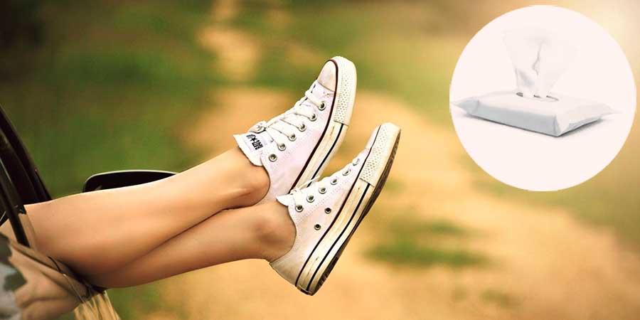 Toallitas antimosquitos para aplicar en piernas