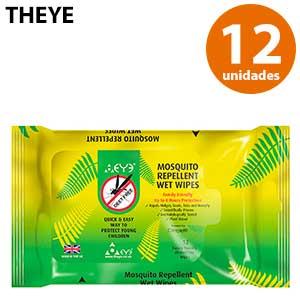 Toallitas antimosquitos de citronela Theye 12 unidades