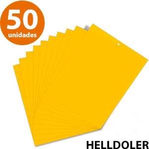 Piezas pegajosas amarillas HellDoler