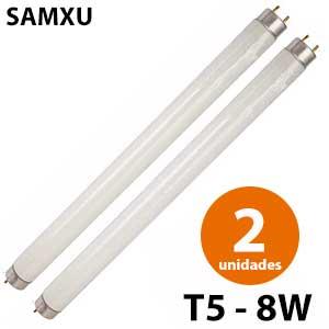 Samxu fluorescente mata insectos T5 8W - 2 unidades