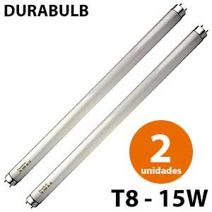 2 recambios fluorescentes mata mosquitos Durabulb T8 15W