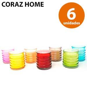 6 velas repelentes de mosquitos para casa Coraz Home
