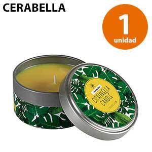 Vela lata Cerabella de citronela